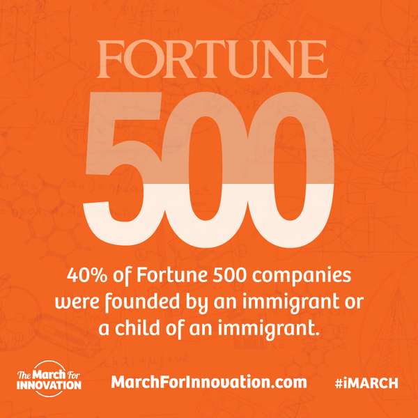 204 of Fortune 500 companies founded by immigrants