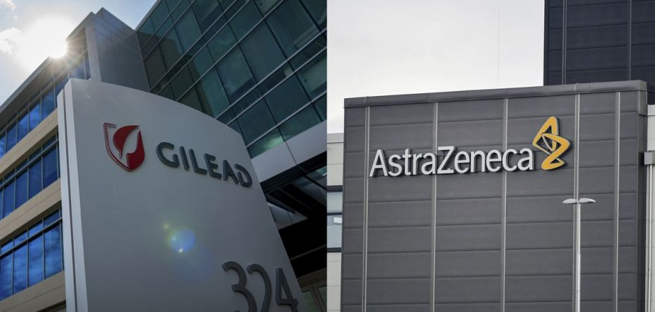 AstraZeneca Approaches Gilead About Doable Merger