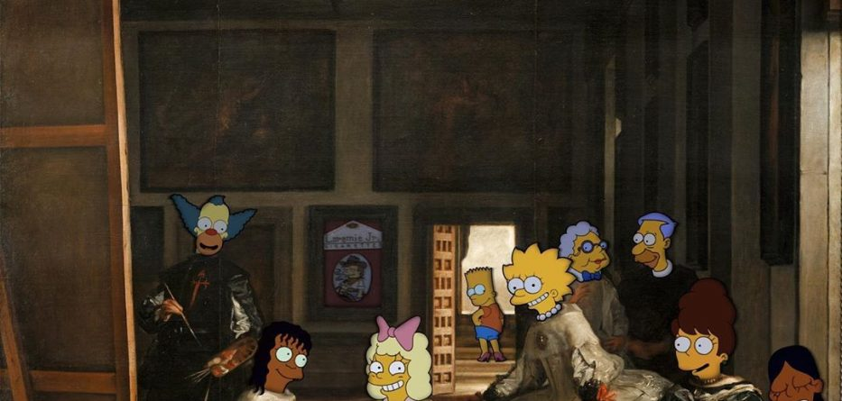 Gorgeous art however with The Simpsons