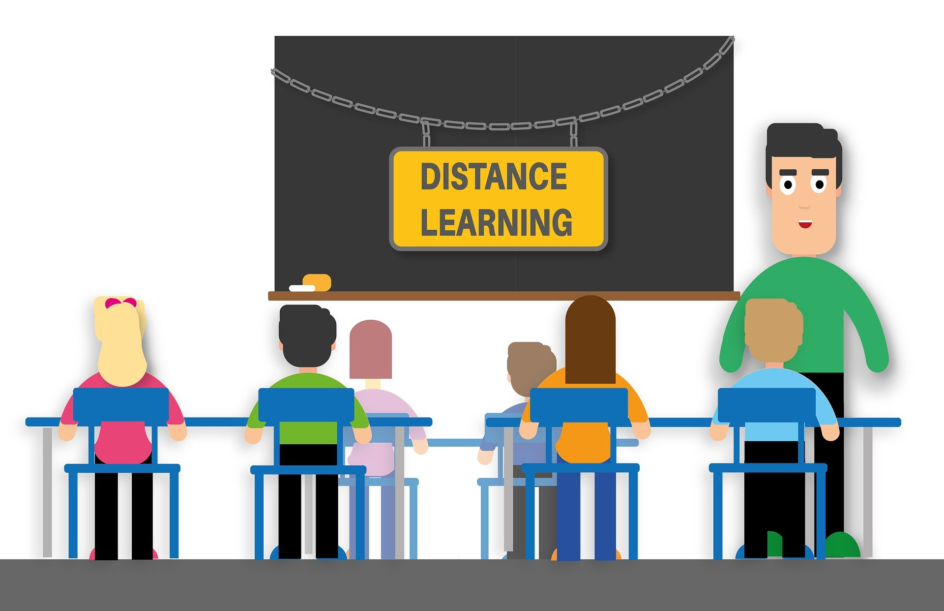 advantages of social media include distance learning